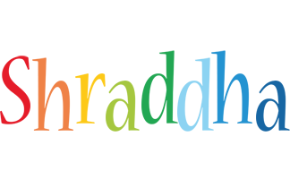 Shraddha birthday logo