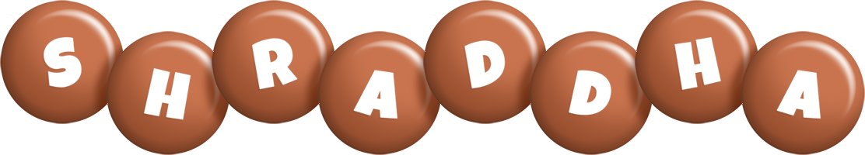 Shraddha candy-brown logo