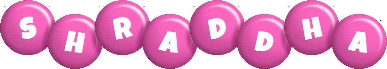Shraddha candy-pink logo