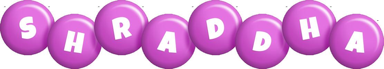 Shraddha candy-purple logo