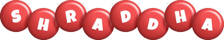 Shraddha candy-red logo