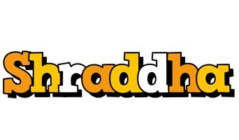 Shraddha cartoon logo