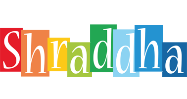 Shraddha colors logo