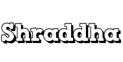 Shraddha snowing logo