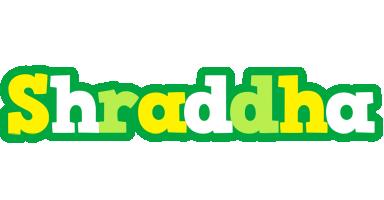 Shraddha soccer logo