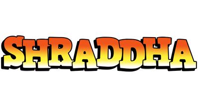 Shraddha sunset logo