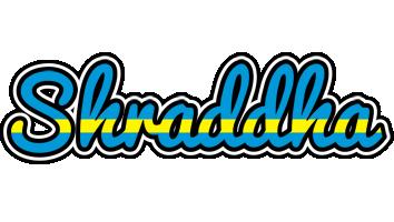 Shraddha sweden logo