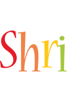 Shri birthday logo