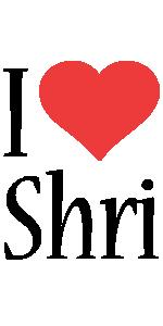 Shri i-love logo