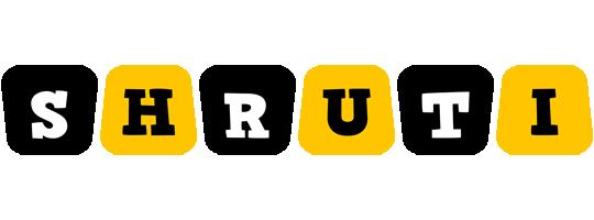 Shruti boots logo