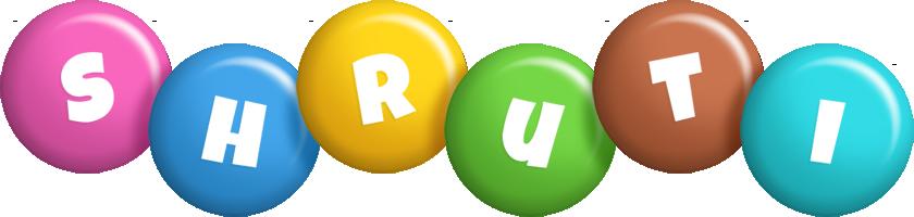 Shruti candy logo