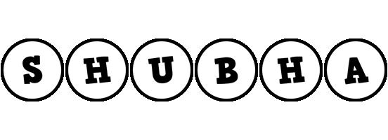 Shubha handy logo