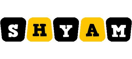Shyam boots logo