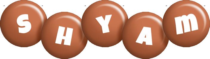 Shyam candy-brown logo