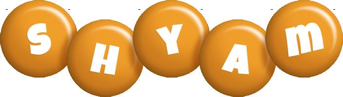 Shyam candy-orange logo