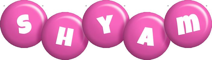 Shyam candy-pink logo