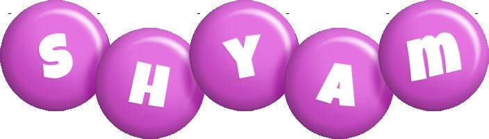 Shyam candy-purple logo