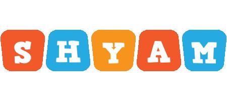 Shyam comics logo