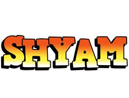 Shyam sunset logo