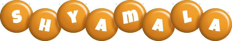 Shyamala candy-orange logo