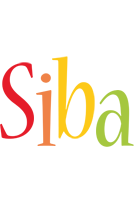Siba birthday logo