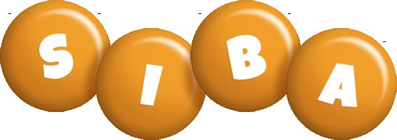 Siba candy-orange logo