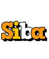 Siba cartoon logo