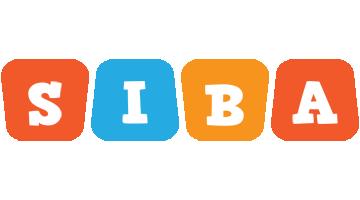 Siba comics logo