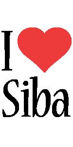 Siba i-love logo