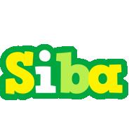 Siba soccer logo