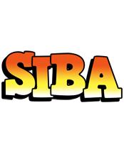 Siba sunset logo