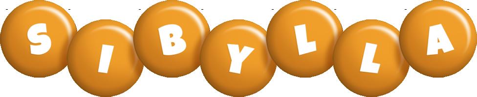 Sibylla candy-orange logo