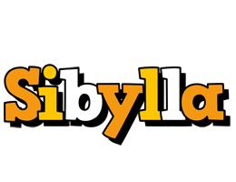 Sibylla cartoon logo