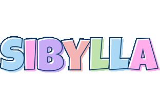 Sibylla pastel logo