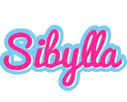 Sibylla popstar logo