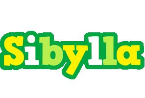 Sibylla soccer logo
