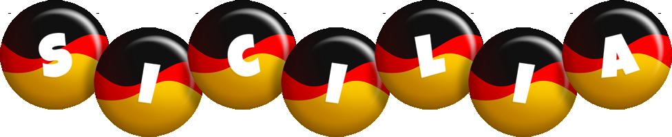 Sicilia german logo