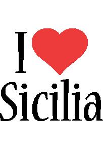 Sicilia i-love logo