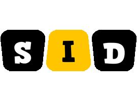 Sid boots logo
