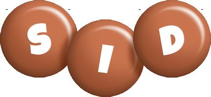 Sid candy-brown logo