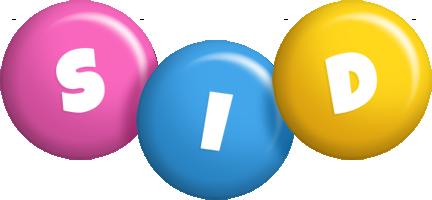 Sid candy logo