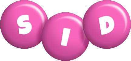 Sid candy-pink logo