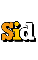 Sid cartoon logo