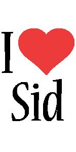 Sid i-love logo
