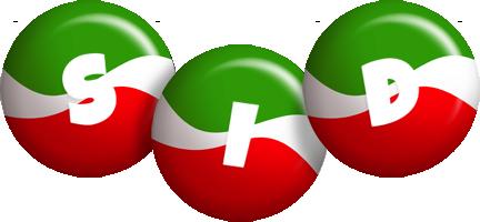 Sid italy logo