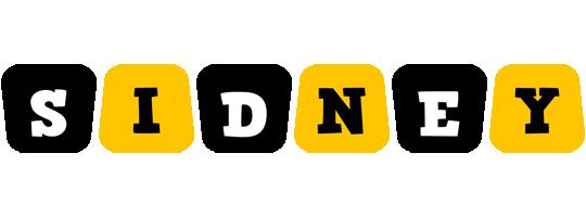 Sidney boots logo