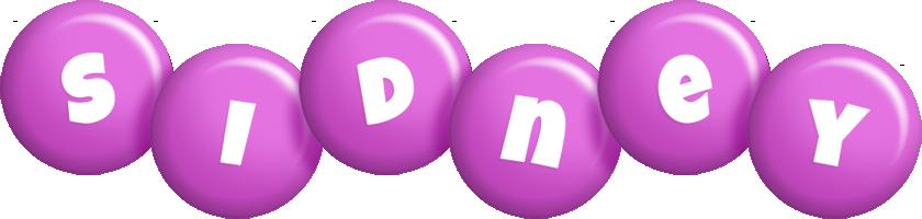 Sidney candy-purple logo