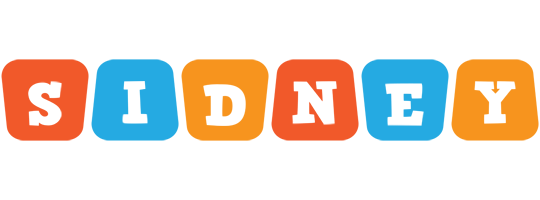 Sidney comics logo