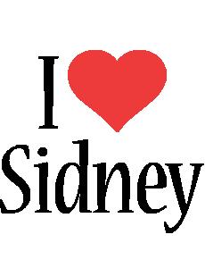Sidney i-love logo