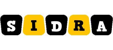 Sidra boots logo
